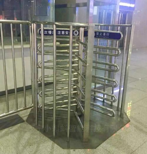 火车站半高旋转闸